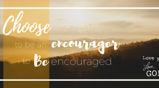 For the Encourager and the Future Encourager
